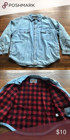 Lined jean jacket. Good condition  Great for cool days northwest territory Jackets & Coats Lined Jeans, Denim Button Up, Button Up Shirts