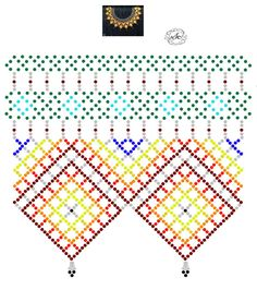 Natali Khovalko's photos Beading Tutorials, Beading Patterns, Diy Necklace Patterns, Beaded Jewelry, Beaded Bracelets, Diy Accessories, Bead Weaving, Beautiful Necklaces, Cross Stitch Embroidery