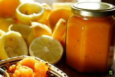 Kardamomos citromos sárgarépalekvár | axi's kitchen Jam Recipes, Marmalade, Cantaloupe, Fruit, Food, Eten, Meals, Diet