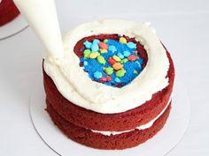 How to Make a Shark Cake : Food Network Cake Trends, Food Trends, Carrot Cake Decoration, Shark Birthday Cakes, Fish Candy, Buckwheat Cake, Shark Cake, Cold Cake, Savoury Cake