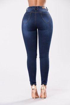 Make Me Weak Jeans - Dark