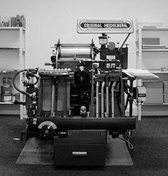 Heidelberg Platen, stoneberry press