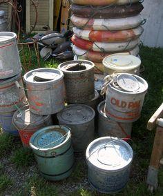 minnow buckets