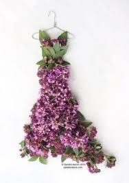 Resultado de imagen para hadas vestidas de flores