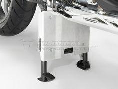 Engine Guard Extension Centerstand. Silver. BMW R 1200 GS (13-). - SW-MOT...