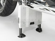 Engine Guard Extension Centerstand. Silver. BMW R 1200 GS (13-). - SW-MOT...