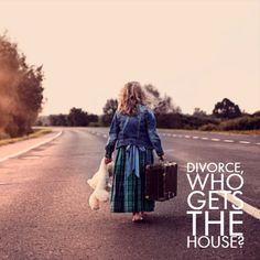Who gets the house in a divorce? Divorce Settlement, Broken Families, How To Be Outgoing, Home And Family, This Or That Questions, House, Things To Sell, Home, Homes