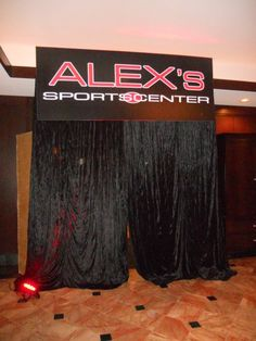 Alex's Sports Center  Event Planner- DM Events & Design  www.dmeventsanddesign.com