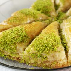 A Sweet flavorful recipe for pistachio baklava.. Pistachio Baklava Recipe from Grandmothers Kitchen.