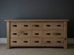 Riven Oak Grand Cupboard