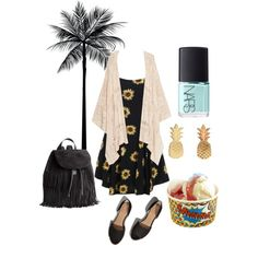 ooo summer by chrichri on Polyvore featuring MANGO, Abercrombie & Fitch, H&M and NARS Cosmetics