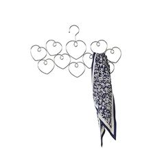 hearts scarf hanger by lisa angel homeware and gifts | notonthehighstreet.com