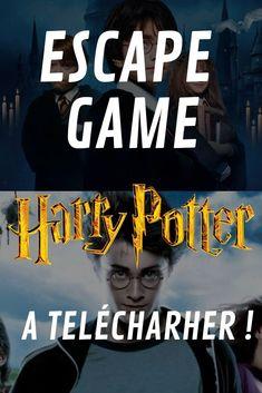 Escape Game Harry Potter a télécharger ! - DIY and Crafts 2019 Classe Harry Potter, Harry Potter Games, Harry Potter Classroom, Theme Harry Potter, Harry Potter Film, Harry Potter Birthday, Harry Potter Quotes, Escape Room, Harry Potter Enfants