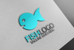 Fish Logo by Josuf Media on @creativemarket