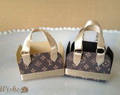 Forminha de Doce: Bolsinha Louis Vuitton