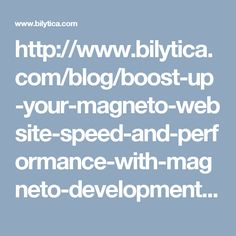 Bilytica offers its respected clients the best Magento Development services! Our experts spend as much time as needed in helping you to boost up your Online Magento Store's efficiency, taking it a step further!