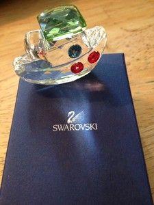 Swarovski Crystal Figurines | Swarovski Crystal Figurine Tommy The Tugboat | eBay