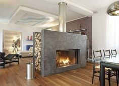 12 Beautiful Dream Home Fireplaces Dream homes, luxury mansions, celebrity…