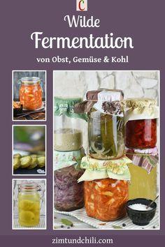 WILDE FERMENTATION VON OBST, GEMÜSE UND KOHLDu möchtest Rote Bete, Karotten, Tomaten, Radieschen, Gurken fermentieren? Mit dieser Anleitung und den Rezepten geht das ganz einfach und du kannst Obst, Gemüse oder Sauerkraut selber fermentieren. Du bekommst außerdem Tipps für das Zubehör und die Zutaten. #fermentierenRezepte #Radieschenfermentieren #RoteBetefermentieren #Karottenfermentieren #Tomatenfermentieren #Sauerkrautfermentieren #Obstfermentieren #Darmgesundheit #darmgesundeErnährung Salate Im Winter, Burger, Sauerkraut, Popcorn Maker, Chili, Kitchen Appliances, Marmalade, Fruit And Veg, Budget Cooking