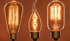 Decorative Antique-Style Filament Lightbulb 3-Pack | Groupon