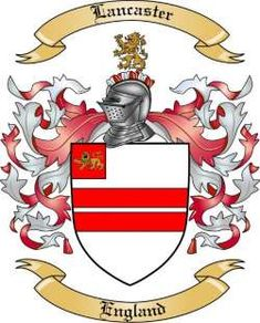 Lancaster Family Coat of Arms