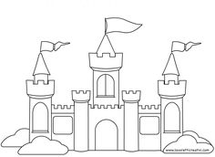 castello da colorare
