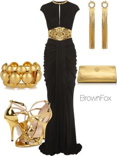 """""""Nubian Queen"""" by brownfox1 ❤ liked on Polyvore"""