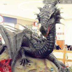 DRA021-Dragon Show Night Dragon Robot -Mcsdino-Fantasy And Mystery
