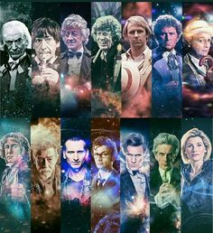 I was confused as to why there was so many faces then realized that they counted the war Doctor