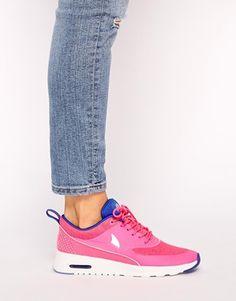 timeless design d16d4 3fa6c Adore these Nike Air Max Theas! Pink Nikes, Air Max Thea, Skechers,