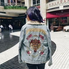 myfashdiary👋🏼 from #Manila! So excited to be here for a course 💥 // wearing a #BeautyandtheBeast jacket from #MinkPink (from @namshi) - loved the movie. #philippines