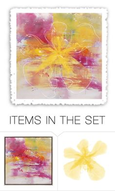 """Summery"" by lovetodrinktea ❤ liked on Polyvore featuring art"