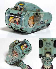 Jetsons Tin Tank.