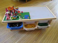 LEGO Table by fordsbasement, via Flickr