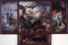 Der Krieg (Triptychon); 1929/1932; Otto Dix