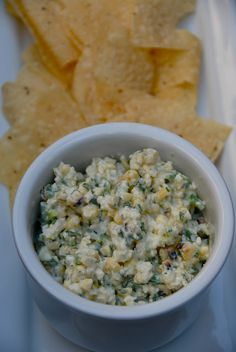 Grilled Mexican Street Corn Dip