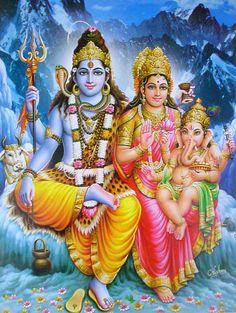 lord shiva family photos - Google Search