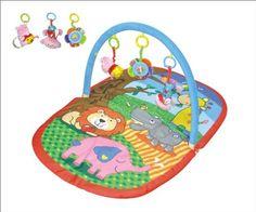 #puericultura Alfombra de juego plegable y transportable – asas