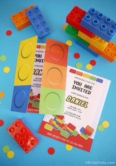 Printable Lego Birthday Invitations Scribd Party Ideas