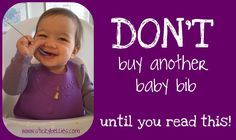The most simple solution to nasty baby bibs. A must read. Little Baby Garvin, Baby Shower Quotes, Monthly Baby Photos, Baby Blog, Crazy Life, Stick It Out, Food Cakes, Change My Life, Baby Month By Month