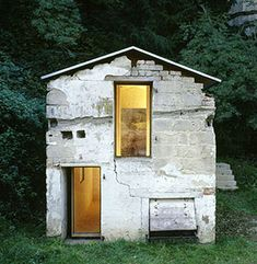 This German Architecture firm renovated a crumbling 18th-century structure without touching it — or so it seems — and won the 2005 AR Award for Emerging Architecture. They removed the roof and simply added the new wooden structure inside of the old stone walls. The new roof protects both structures.