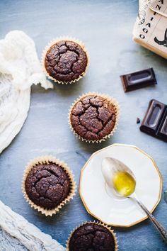 Gluten Free Chocolate Olive Oil Muffins