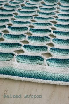 Ravelry: Candy Stick Blanket pattern by Susan Carlson