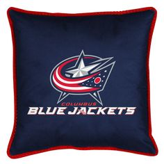 ATHLEZ - Columbus Blue Jackets Sidelines Toss Pillow