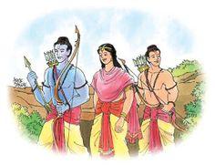 Picture of Ramayana in One Sloka Ekasloka Ramayanam