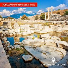 The ancient cities of Xanthos and Letoon are incredible religious sanctuaries from long, long ago. And not surprisingly, UNESCO World Heritage Sites.