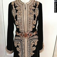 اللباس من تصميم @fouzianaciri Tel : +212619207205 Facebook : fouzia naciri…