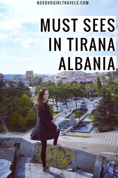 Tirana and Kruja - cities that should be visited in Albania in your first visit. Tirana is the rapidly changing capital and Kruja because of its history. Albania Travel, Visit Albania, Capital Of Albania, Enver Hoxha, Europe Beaches, Tirana Albania, Republic Of Macedonia, Europe Travel Tips, Travel Destinations