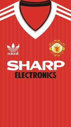 Manchester United Home kit 1982 iphone 5 6 wallpaper Manchester United Home Kit, Manchester United Wallpaper, Manchester United Football, Soccer Practice, Soccer Skills, Soccer Tips, Football Icon, Football Kits, Football Fight