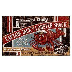 Lobster Shack Wall Art - PP-1090L